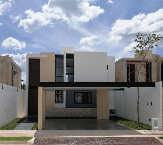 Casa En Venta,3 Rec(1en Planta Baja)y Alberca,privada Ya Ax-beh,conkal,mérida,yucatán.