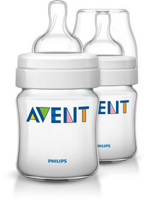 Avent - Pack 2 Biberones Polipropileno Classic Plus 125 Ml