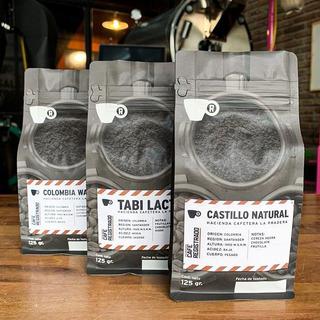 Cafe Especialidad Pack X 3 Origenes De Colombia 125 Gr C/u