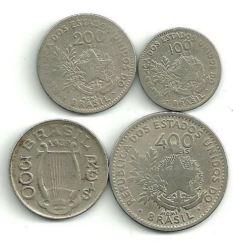 100 200 E 400 Réis 1901 + 300 Réis 1938+ 21 Moedas Nacionais