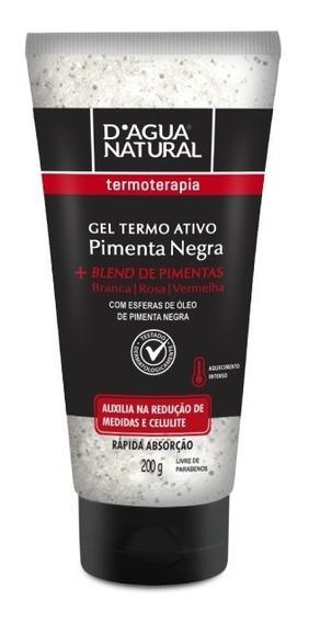 Gel Termo Ativo Pimenta Negra 200g D