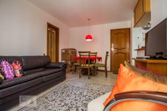 Apartamento No 5º Andar Mobiliado Com 1 Dormitório E 1 Garagem - Id: 892946415 - 246415