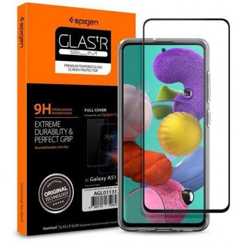 Imagen 1 de 3 de Vidrio Spigen Samsung Galaxy A51 Glas.tr 9h X 2 Unidades