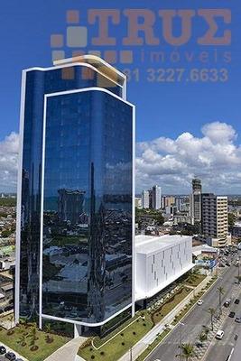 Sala Comercial Para Locação, Pina, Recife. - Sa0060