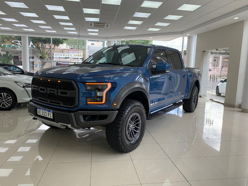 Ford F-150 Raptor 3.5 At 4x4 V6 2020 4.000 Km. Azul Garantia