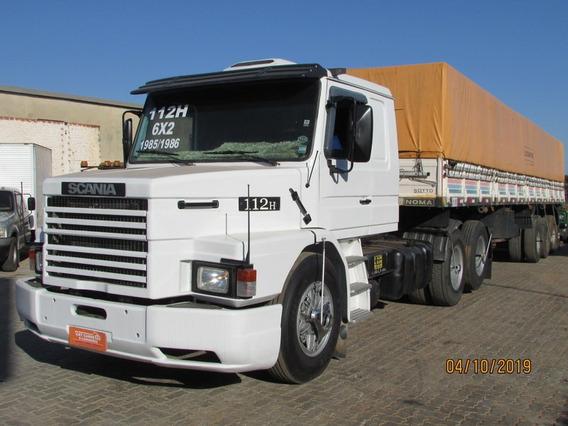 Scania T 112 6x2 Carreta Graneleira C/ Pneus