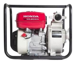 Motobomba Honda Wl20xh 36000 L/h 4hp Aguas Limpias Honda