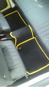 Tapetes Automotivos Personalizados Fusca, 5 Peças