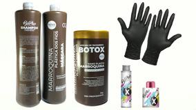 Plastica Dos Fios Selagem Térmica Marroquina + Btx Bio Plus