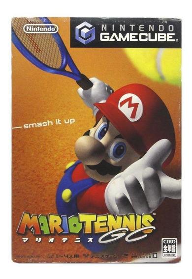 Mario Tennis Gc Gamecube Japonês Mídia Física Pronta Entrega