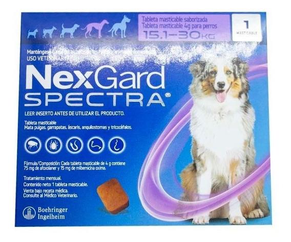 Nexgard Spectra 1 Tab Perro Grande 15.1-30 Kg