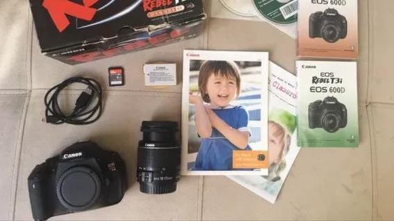 Camera T3i Canon Completa