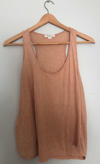 Musculosa Salmón- Forever 21 - Talle L