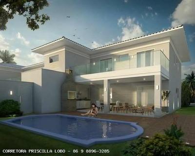 Casa Em Condomínio Para Venda Em Teresina, Gurupi, 5 Dormitórios, 5 Suítes, 6 Banheiros, 6 Vagas - 0129