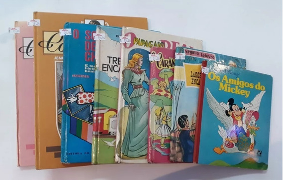 Livros Infantis Antigos