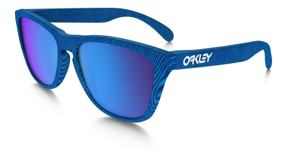 Lentes De Sol Frogskins Azul Oakley.