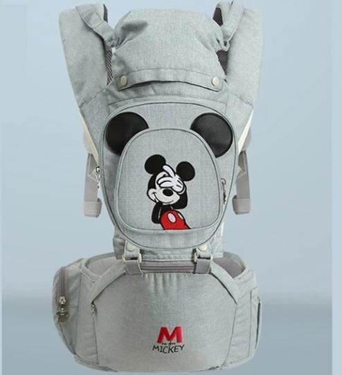 Canguru Ergonômico Disney Mickey Minnie Bebê A