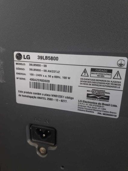 Smarttv LG 39 Modelo 39lb5800 Display