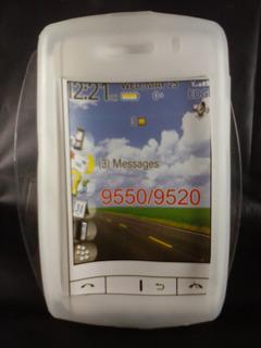 Capa Silicone Gelo Blackberry 9520 9550 Storm2