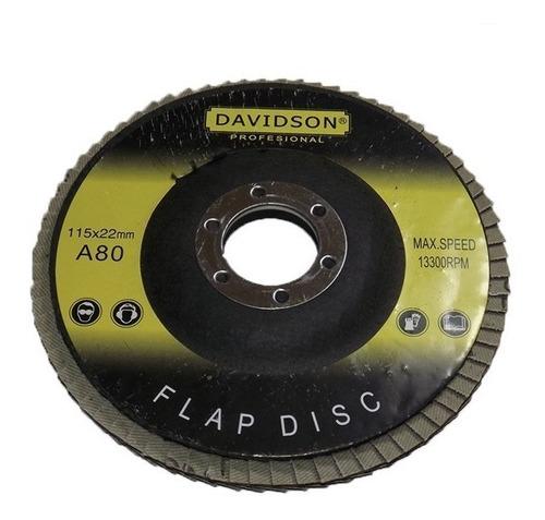 Imagen 1 de 5 de Disco Flap De Lija 4-1/2 - Electroimporta -