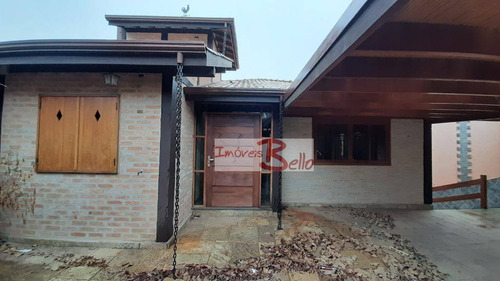 Casa Com 4 Dormitórios À Venda, 295 M² Por R$ 830.000 - Giardino D  Itália - Itatiba/sp - Ca1272