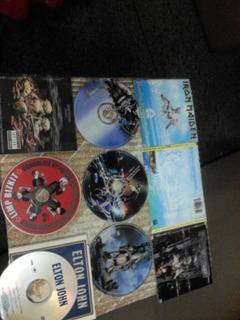Discos Cds Cd Iron Maiden Limp Bizkit Elton John ($5 C/u)