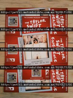 Taylor Swift Promo Card Grammy Museum 1989 Spears Rihanna