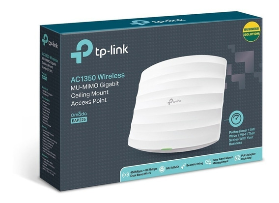 Access Point Tp-link - Omada Eap225 Ac1350 Mu-mimo Gigabit