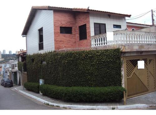 Sobrado Com 3 Dormitórios À Venda, 220 M² Por R$ 800.000,00 - Anália Franco - São Paulo/sp - So1263