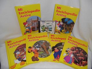 Enciclopedia Disney Mickey Y Amigos + Cd Salvat Multimedia
