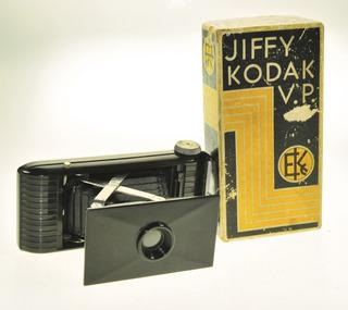 Kodak Jiffy Vest Pocket Antigua Cámara Fotográfica Impecable