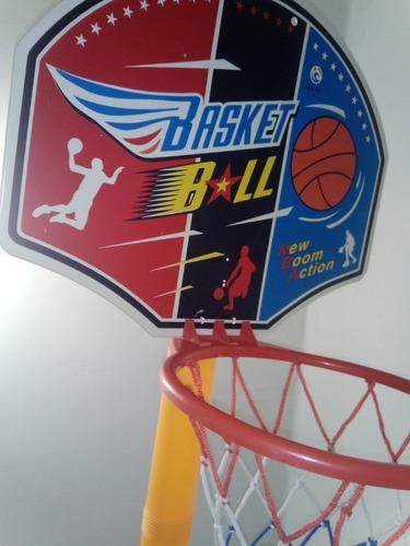 Mini Cancha Basketball 143cm De Altura Juguete Infantil