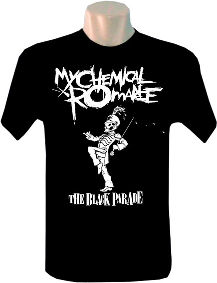 Camiseta Masculina Bandas Rock My Chemical Romance Black