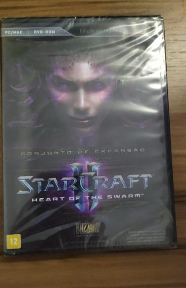 Jogo De Pc Star Craft 2 Heart Of The Swarm Game Computador