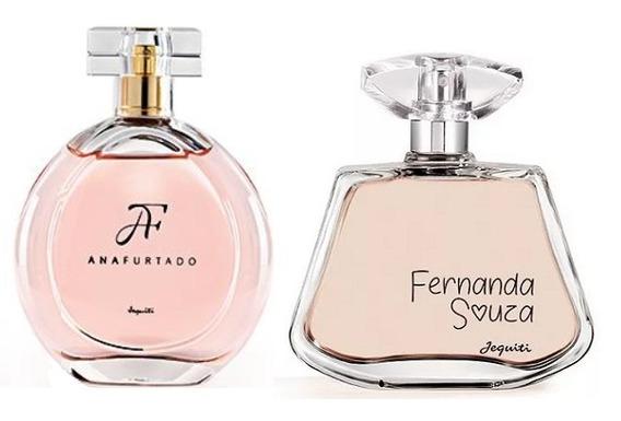 Perfumes Ana Furtado + Fernada Souza Jequiti