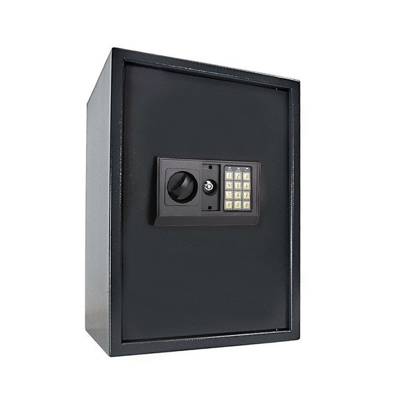 Caja Fuerte Seguridad Digital Oficina Pared Piso 35x36x52cm
