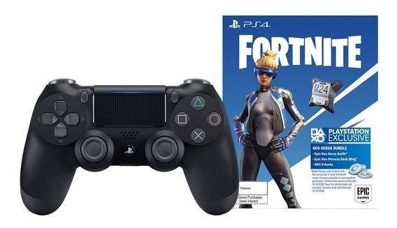 Control Inalámbrico Playstation 4 Dualshock Fortnite