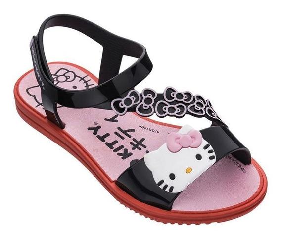 Sandália Infantil Hello Kitty Grendene Feminina