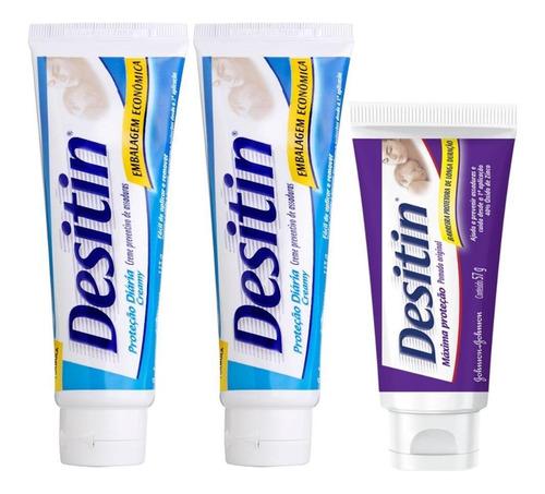 Kit Desitin: 2 Creamy 113g + Máxima Duração 57g