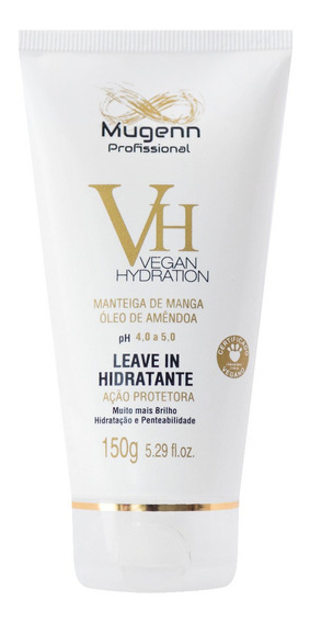 Leave-in Vegano Mugenn Cosméticos Vegan Hydration - 150g