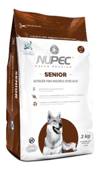 Alimento Croquetas Perro Nupec Senior Adulto 2 Kg
