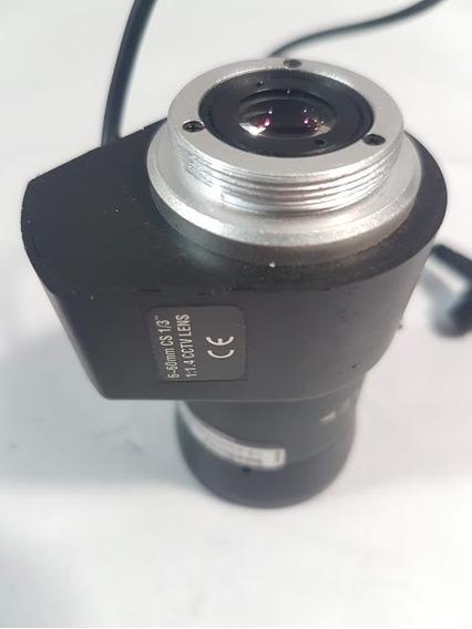 Lente Varifocal 6-60 Mm Xlp 0660r Intelbras Semi Nova