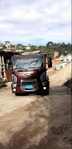 Imagem 1 de 3 de Ford Cargo 2429 Ano 2014 Caçamba 14m³ E 4º Eixo
