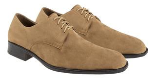 Zapatos Hombre Con Cinto Gamuza Moda Eco Cuero Acordonados