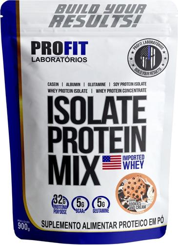 Imagem 1 de 5 de Isolate Protein Mix (900g) - Profit Labs
