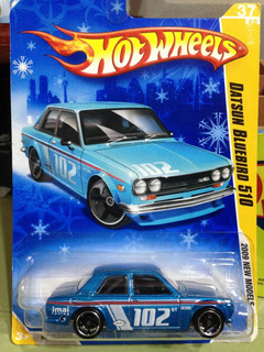 Hot Wheels - Carros Colecionáveis Na Cartelas