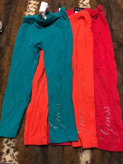 3 Pantalones Para Niña