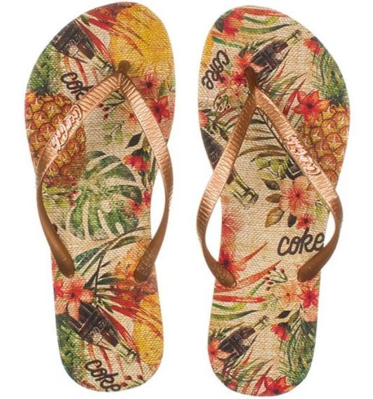 Chinelo Coca Cola Shoes Cc2742 Dedo Masculino