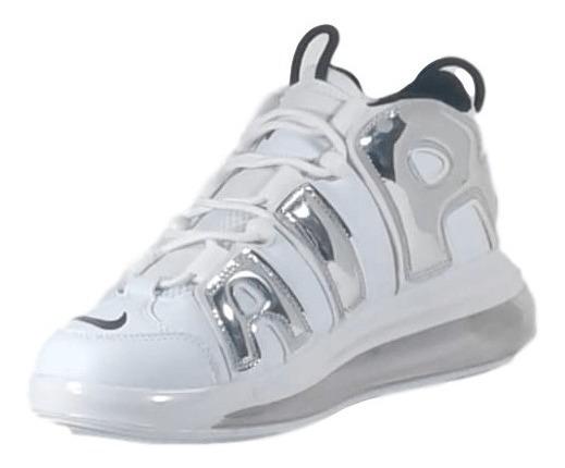 Tênis Nike Branco Uptempo 720 Qs Comprado E Nunca Usado