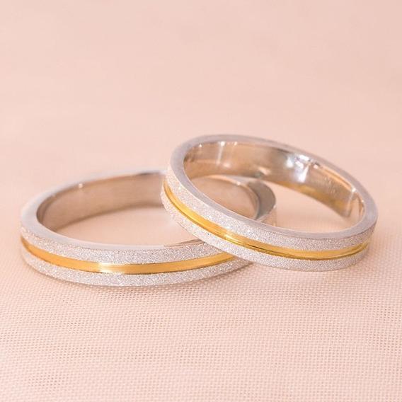 Alianças Namoro Diamantadas Loveways